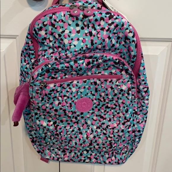 Kipling Handbags - Kipling Seoul Backpack/Laptop, Living Geos